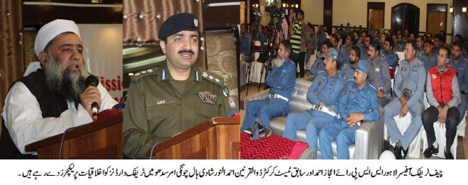 Former Test Cricketer Zulqarnain joins Traffic Police moral training lectures series