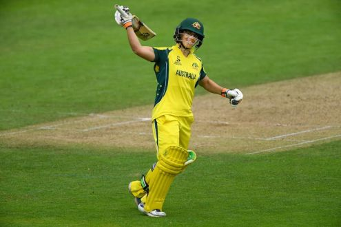 Australia beat West Indies by eight wickets