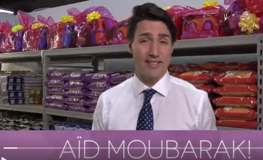 Justin Trudeau wished Eid Mubarak to Muslim Community