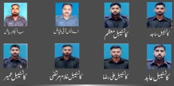 9 cops embraced martyrdom in bomb attack at the Ferozepur Road