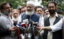 The entire government is being disqualified :  Siraj ul Haq