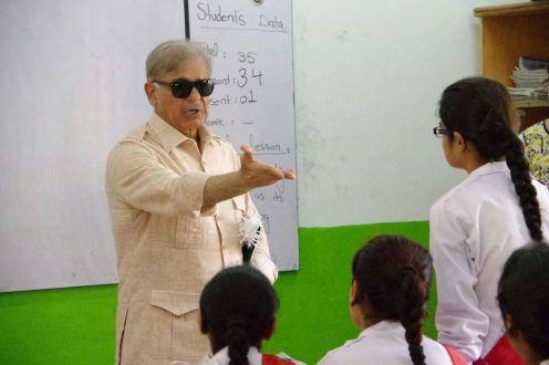 Shahbaz Sharif visits Emine Erdogan Danish Care Girls School Baseera Town Muzaffargarh