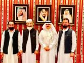 Siraj ul Haq visits Saudi Embassy to meet newly appointed ambassador