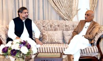 PM Abbasi and Khursheed Shah discuss appointment of new NAB chairman