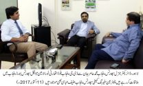 DG Punjab Food Authority Noorul Amin Mengal meets DG SBP Aamir Jan