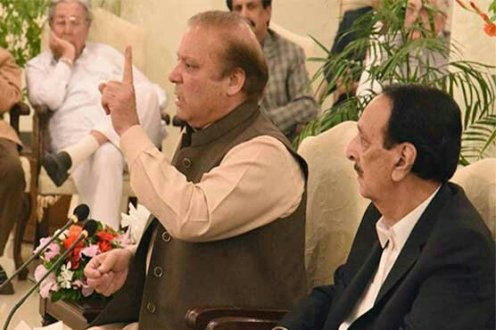 Nawaz Sharif pushing country towards anarchy and clash of institutions