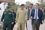Chairman NDMA Visit Rescue Headquarters and the Services Academy