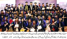 First Convocation of Children Hospital & Institute of Child Health's Allied Health Sciences School held at Pearl Continental