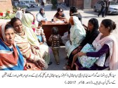 MS Lady Aitchison Hospital Lahore Dr Fauzia holds open katchery