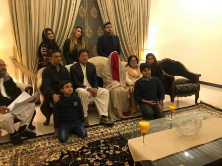 Imran Khan weds with Bushra Manika