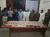 Model Town police arrest10 gamblers