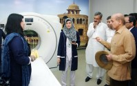 Shahbaz Sharif inaugurated CT Scan Center and Hepatitis Filter Clinic at Sheikhupura