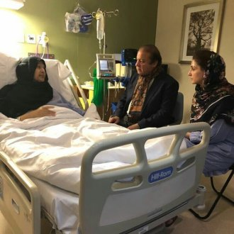 Nawaz Sharif inquires after Begum Kalsoom Nawaz