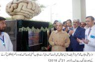 Shahbaz Sharifinaugurated Punjab Institute of Neurosciences at LGH