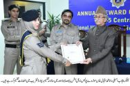 Rana Iqbal attends Motorway Police annual award distribution ceremony