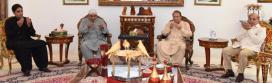 Asif Zardari and Bilawal condole with Nawaz Sharif