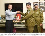 IG Muhammad Tahir make the day of his operator