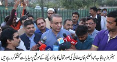 Solid Waste Management surprized Aleem Khan during his surprize visit