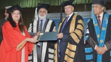 Governor attends Punjab University's second phase of 126th Convocation