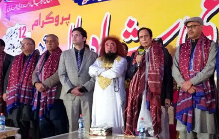 Ch Pervaiz Elahi attends programme of collective marriages in Daska
