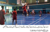 Chishtian beat Minchinabad in boys' volleyball contest