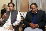 Ch Shujaat accept Fawad Ch's apology