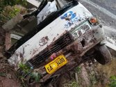 Engineering University students coaster met an accident at Chathar kalas more