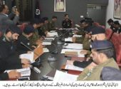DIG Ops Waqas Nazeer holds meeting with Cantt division officers