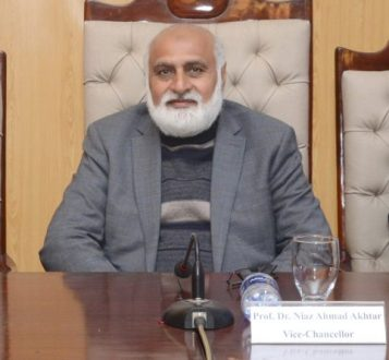 Punjab University to set up Cancer Research Centre : VC professor Niaz Ahmad Akhtar