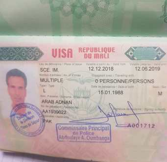 FIA arrest a youth attempting travel to Mali on fake visa