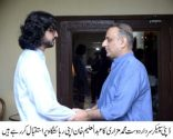 PTI leaders continued to visit the residence of Aleem Khan