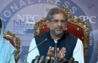 Shahid Khaqan Abbasi denied any contact with Jahangir Khan Tareen