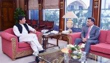 DG ISI Lt.Gen. Faiz Hamid called on Prime Minister Imran Khan
