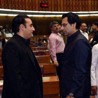 Ch Moonis Elahi calls on Bilawal Bhutto Zardari