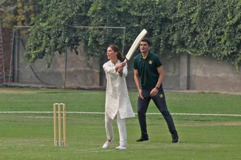 Prince William and Kate Middleton visited Lahore