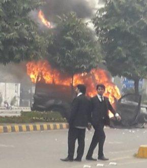 Lahore Police booked  PM Imran Khan 's Nephew Hassan Niazi