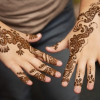 Mehndi design for bridal.