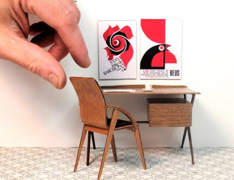 Fernando Setién - Muebles en miniatura