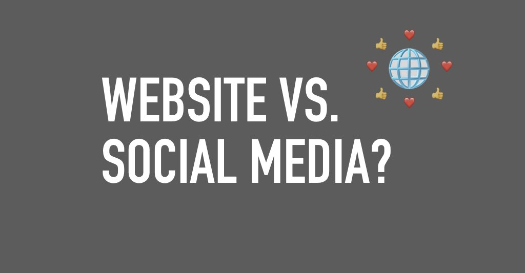 Website vs. Social Media