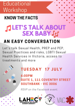 Lesttalkaboutsex poster