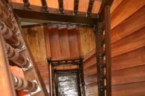 La cage d'escaliers