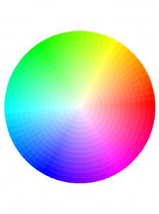 rueda color