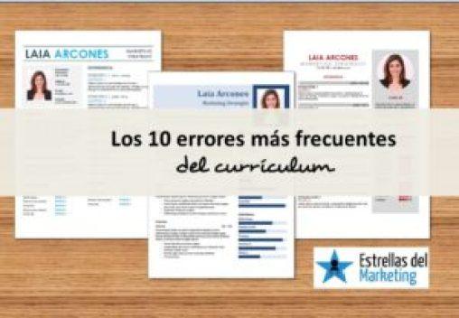 errores curriculum