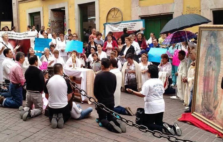 Católicos de Estados Unidos protestan en México contra el matrimonio gay y el aborto - Observatorio del Laicismo - Europa Laica
