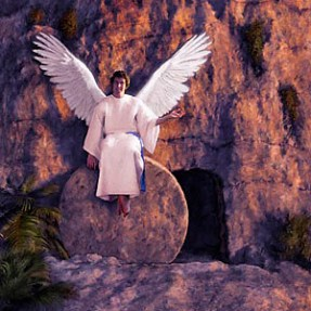angel at tomb