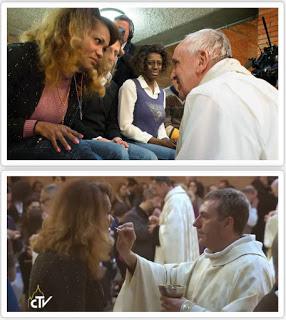 sacrilegio eucaristia travesti