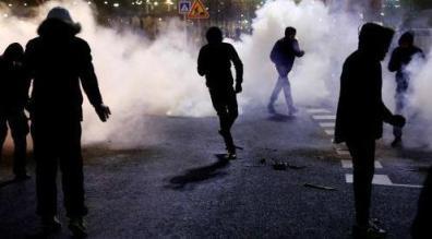 violencia en paris.