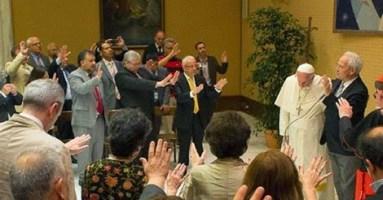 herejes unidos a Bergoglio