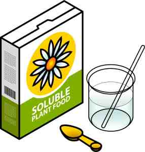 Soluble fertilizers are often more expensive than they appear.