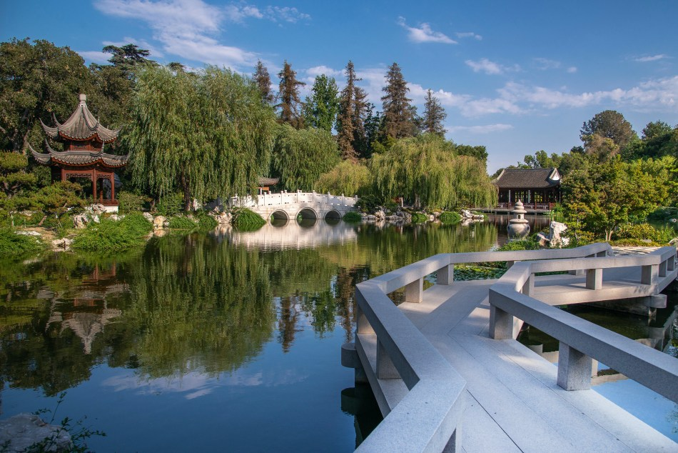 Lake of Reflected Fragrance, Chinese Garden, The Huntington